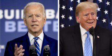 Biden noemt Trump eerste racistische president