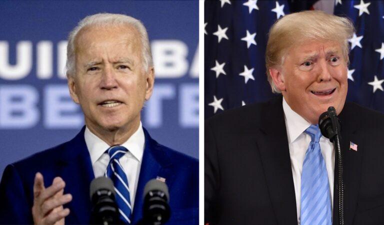 Joe Biden zegt dat Donald Trump de eerste racistische president is